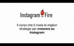 vidoecorso avanzato instagram