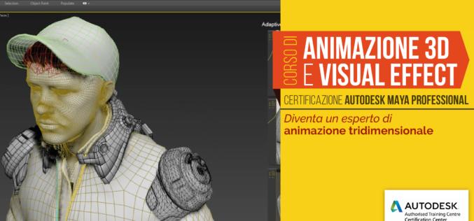 Corso di Animazione 3D ed Effetti Speciali VFX